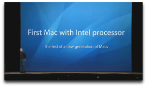 If a PowerPC Mac were a chicken, this would be the announcement of Christmas