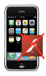 iPhone no Flash